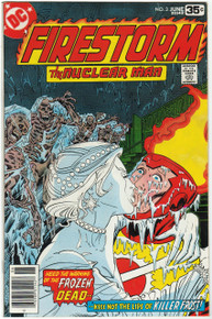 Firestorm #3 FN/VF Front Cover