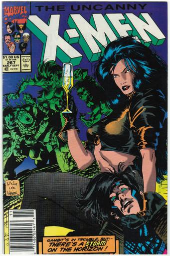 Uncanny X-Men #267 FN Front Cover