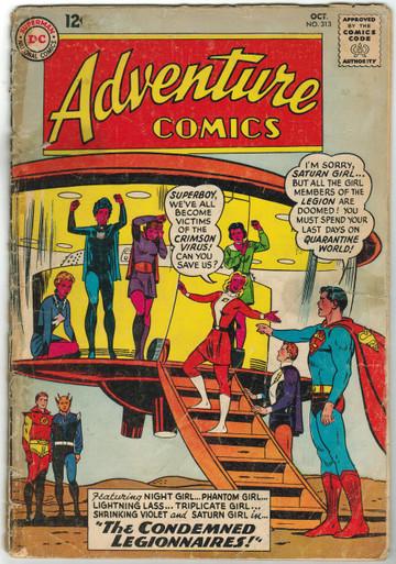 Adventure Comics #313 FR Front Cover