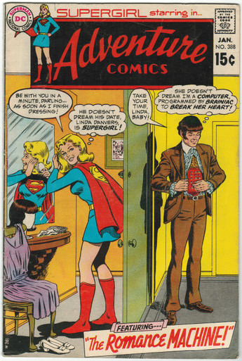 Adventure Comics #388 VG/FN Front Cover