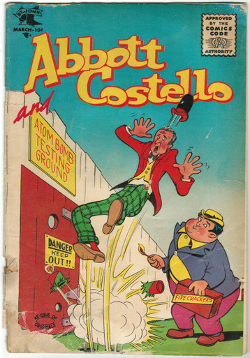 Abbott & Costello #37 GD Front Cover