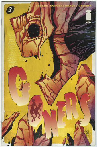 Goners #3 NM Front Cover