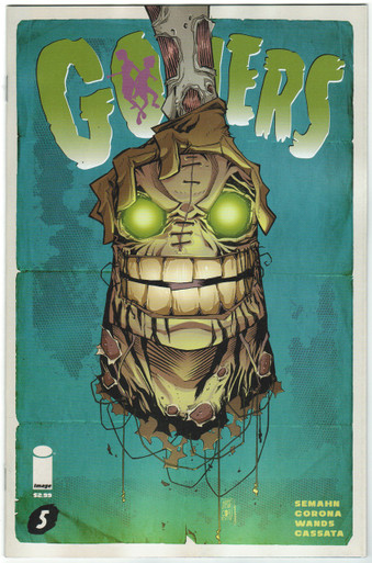 Goners #5 NM Front Cover