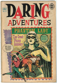 Daring Adventures #12 GD Front Cover