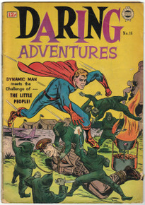 Daring Adventures #16 GD Front Cover