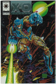 X-O Manowar #0 VF/NM Front Cover