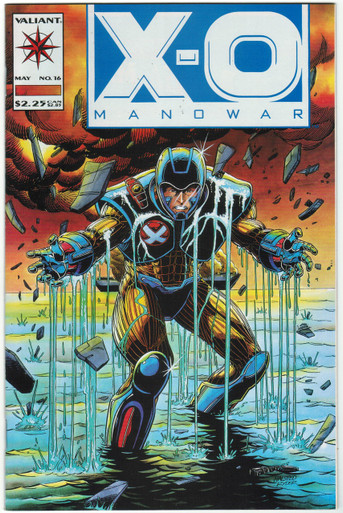 X-O Manowar #16 VF/NM Front Cover