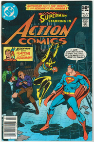 Action Comics #521 VG Front Cover