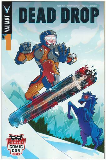 Dead Drop #1 NM DCC 2015 Variant Front Cover