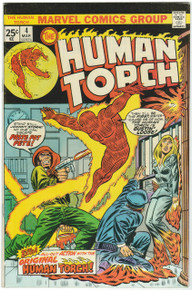 Human Torch #4 FN/VF Front Cover