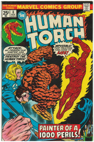 Human Torch #8 VF Front Cover