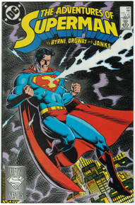 Adventures of Superman #440 VF/NM Front Cover