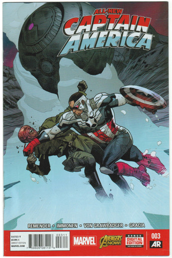 All New Captain America #3 FN Front Cover