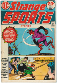 Strange Sports Stories #1 FN Front Cover