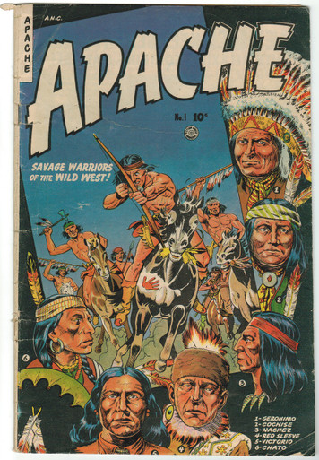 Apache #1 GD Front Cover