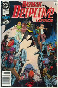 Detective Comics #614 FN Front Cover