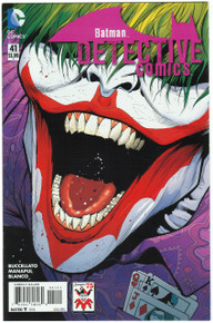 Detective Comics #41 NM Joker Variant Front Cover
