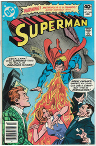 Superman #346 FN/VF Front Cover