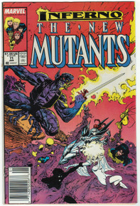 New Mutants #71 FN Front Cover