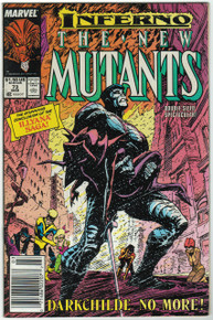 New Mutants #73 VF Front Cover