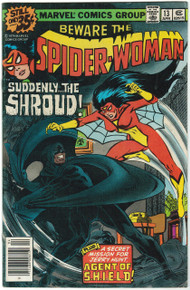 Spider Woman #13 VG Front Cover
