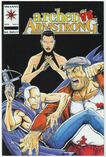 Archer & Armstrong #9 VF/NM Front Cover