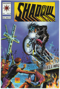 Shadowman #14 VF/NM Front Cover