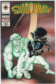 Shadowman #25 VF/NM Front Cover