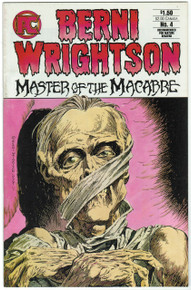 Bernie Wrightson Master of the Macabre #4 FN Front Cover