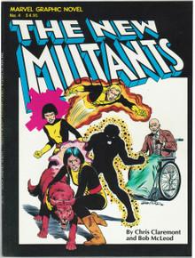 Marvel Graphic Novel #4 VF+ Front Cover