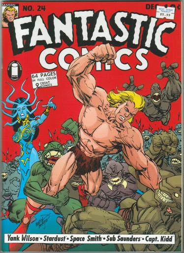 Fantastic Comics #24 NM Front Cover