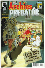 Archie Vs. Predator #1 NM SDCC 15 Variant Front Cover