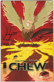 Chew #50 SDCC 15 Exclusive SIGNED Variant Front Cover