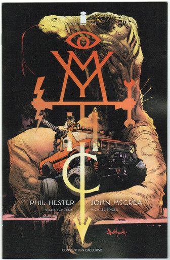 Mythic #2 NM SDCC 15 Exclusive Variant Front Cover