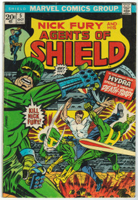 S.H.I.E.L.D. #5 VG+ Front Cover
