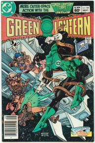 Green Lantern #168 FN Front Cover