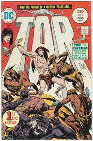 Tor #1 VF/NM Front Cover