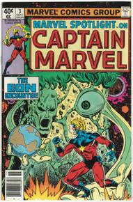 Marvel Spotlight V2 #3 VF/NM Front Cover