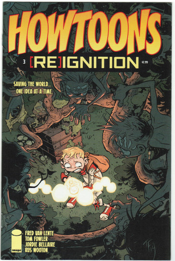 Howtoons Reignition #3 NM Front Cover