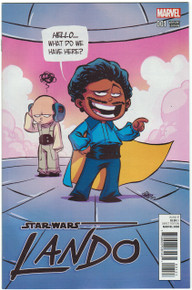 Lando #1 NM Skottie Young Variant Front Cover