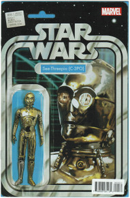 Star Wars #5 Action Figure Variant NM Front Cover