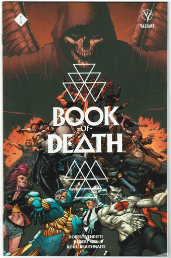 Book of Death #1 VF/NM Cover A Gill Front Cover