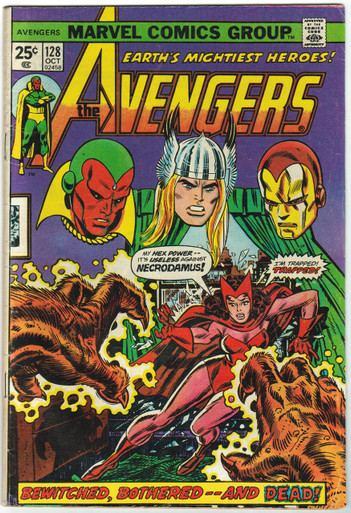 Avengers #128 FN Front Cover