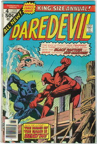 Daredevil King Size Annual #4 F