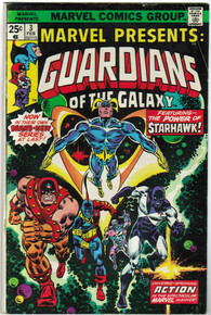 Marvel Presents: Guardians of the Galaxy #3 F