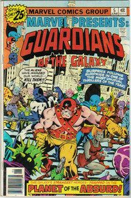 Marvel Presents: Guardians of the Galaxy #5 VG/FN