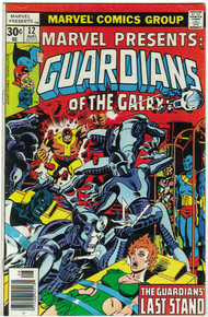 Marvel Presents: Guardians of the Galaxy #12 VF
