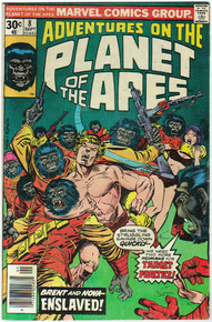 Adventures on the Planet of the Apes #8 F