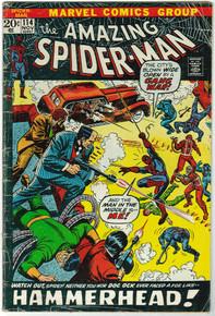 Amazing Spider Man #114 GD