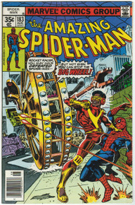 Amazing Spider Man #183 VF Front Cover